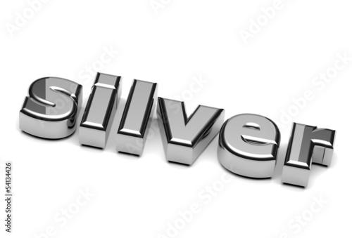 Silver English Word