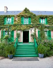 Claude Monet garden and house near Paris