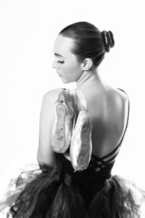Beautiful Ballet Dancer Portrait