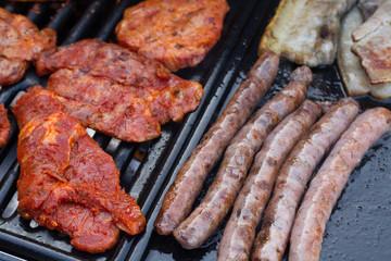 viandes barbecue