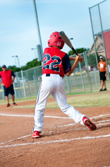 Little league batter
