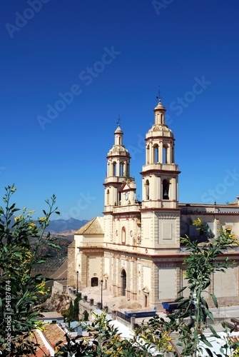 Church, Olvera, Andalusia, Spain © Arena Photo UK