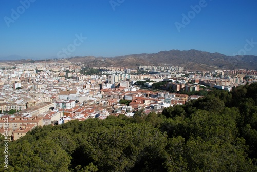 View over city, Malaga, Spain © Arena Photo UK