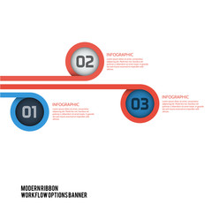 Modern RIbbon Workflow Options Banner