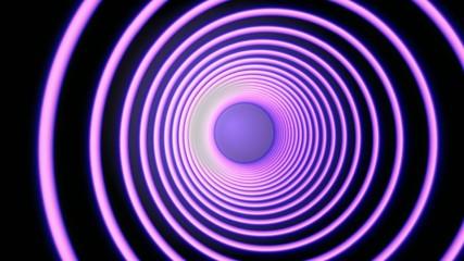 Pink Hypnotic Spiral