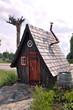 Märchenhaftes Holzhaus