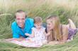 Happy young family (Mirjam M., Daniel Gröblacher)