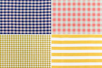 Plaid  farbic pattern