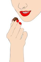 La felicità è un buon cioccolatino