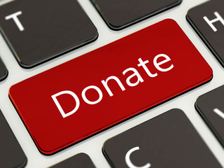 Donate button laptop