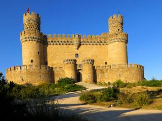 castello manzanares el real