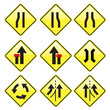 Road Signs yellow