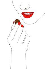 Want chocolate