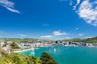 Leinwanddruck Bild - Bay of Wellington and harbour