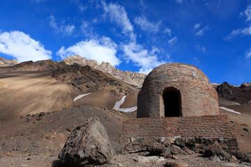 refugio de montaña en Las Cuevas,argentina