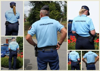 La gendarmerie.