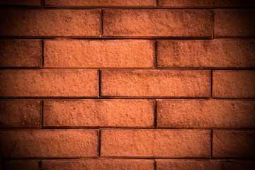 Facing brick background