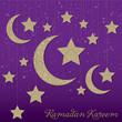 """Ramadan Kareem"" (Generous Ramadan) mobile card"