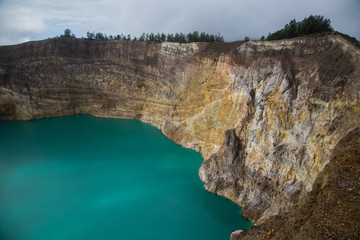 The Kelimutu lake