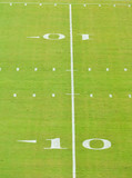 ten yad line on a football field