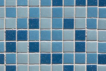Piastrelline azzurre per rivestimento