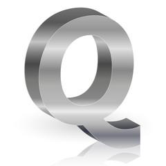 q アルファベット 銀