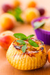 muffins with apricots