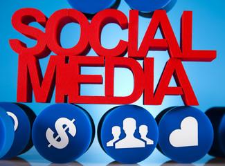 Social media network icons