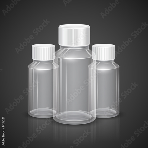 Transparent Bottle
