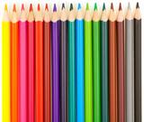 Fototapety crayons de couleurs