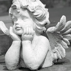 cute angelic sculpture