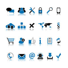 basic web icon set