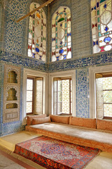 Detail From Topkapi Palace Interior, Istanbul, Turkey