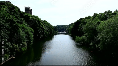 river view of durham catherdral