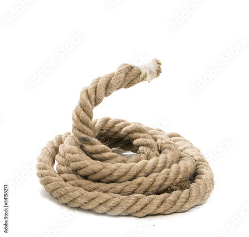 isolated ropes