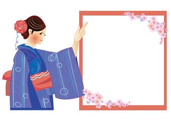 着物のガイドさん japanese