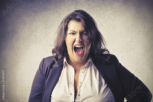 woman stressed