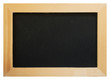 Old chalk board with wood frame