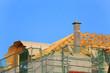 Dachstuhl mit Rundgaube