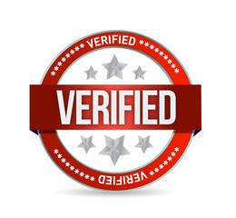 verified seal stamp illustration
