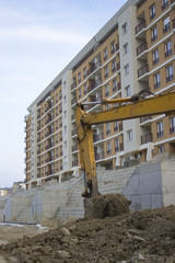 Excavator arm in action 2