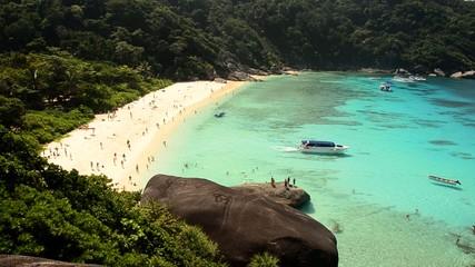 Similan islands-lagoon