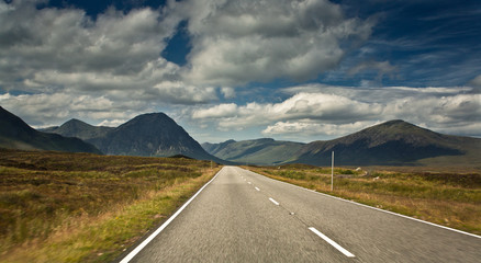 Road to Glencoe