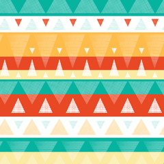 Vector abstract vibrant ikat stripes seamless pattern background