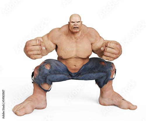 monster man got the power