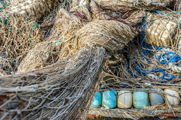 Old fishing nets