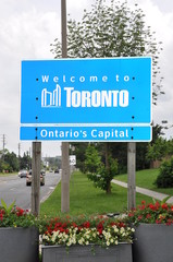Toronto's welcome billboard