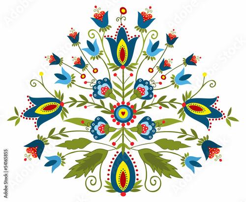 Polski wzór ludowy - inspiracja © bridzia2