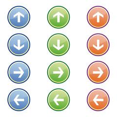 Pfeile Buttons
