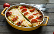 marrow casserole with cheese